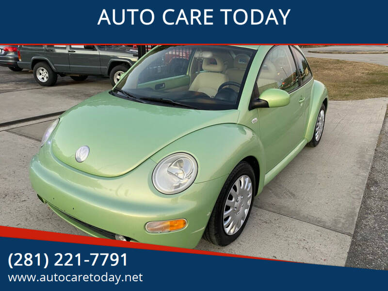 2002 Volkswagen New Beetle for sale at AUTO CARE TODAY in Spring TX
