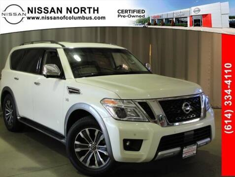 2017 Nissan Armada for sale at Auto Center of Columbus in Columbus OH