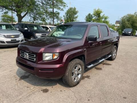 2007 Honda Ridgeline for sale at Dean's Auto Sales in Flint MI