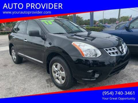 2013 Nissan Rogue for sale at AUTO PROVIDER in Fort Lauderdale FL
