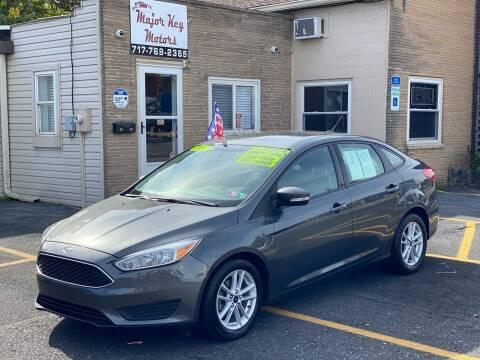 2017 Ford Focus for sale at Major Key Motors in Lebanon PA