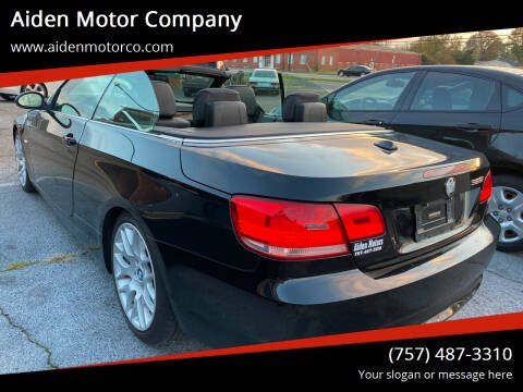 2007 BMW 3 Series for sale at Aiden Motor Company in Portsmouth VA