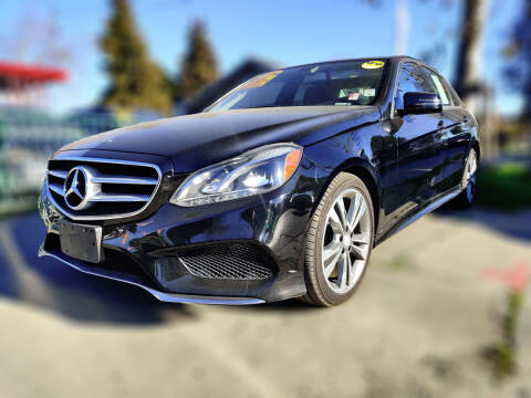 2014 Mercedes-Benz E-Class for sale at ALL CREDIT AUTO SALES in San Jose CA