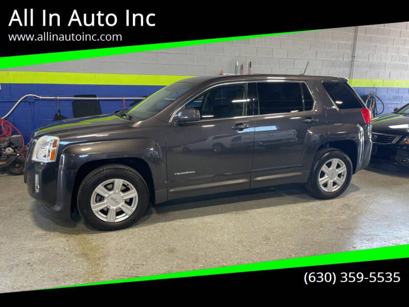 2014 GMC Terrain for sale at All In Auto Inc in Addison IL