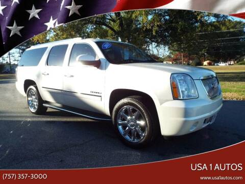 2011 GMC Yukon XL for sale at USA 1 Autos in Smithfield VA