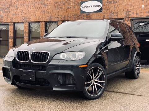 2011 BMW X5 M for sale at Supreme Carriage in Wauconda IL