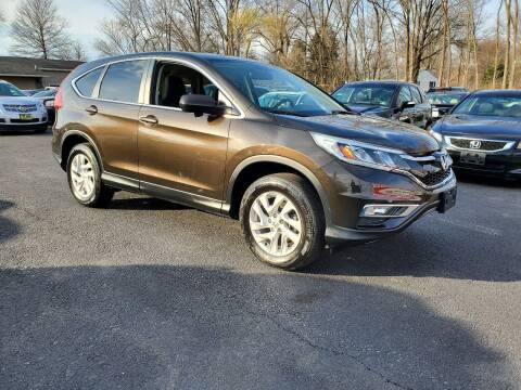 2015 Honda CR-V for sale at AFFORDABLE IMPORTS in New Hampton NY