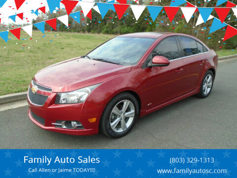 2014 Chevrolet Cruze for sale at Family Auto Sales in Rock Hill SC