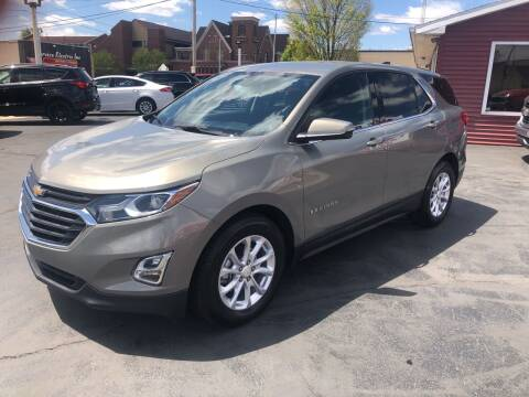 2018 Chevrolet Equinox for sale at N & J Auto Sales in Warsaw IN