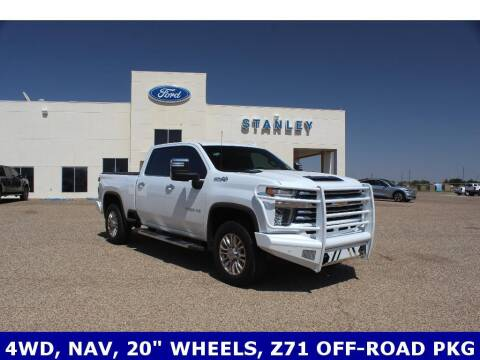 2020 Chevrolet Silverado 2500HD for sale at STANLEY FORD ANDREWS in Andrews TX