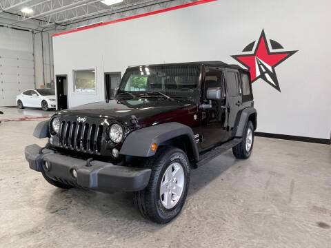 2015 Jeep Wrangler Unlimited for sale at CarNova - Shelby Township in Shelby Township MI