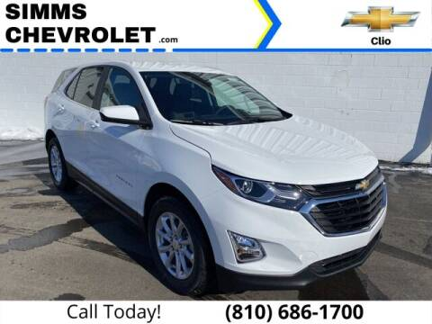 2021 Chevrolet Equinox for sale at Aaron Adams @ Simms Chevrolet in Clio MI