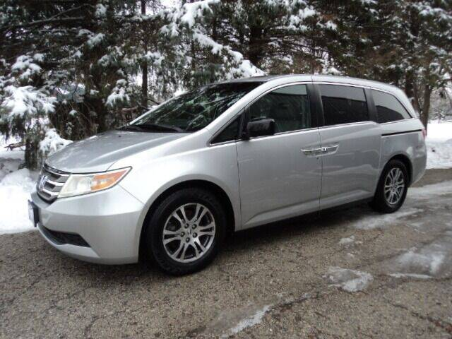 2012 Honda Odyssey for sale at HUSHER CAR COMPANY in Caledonia WI