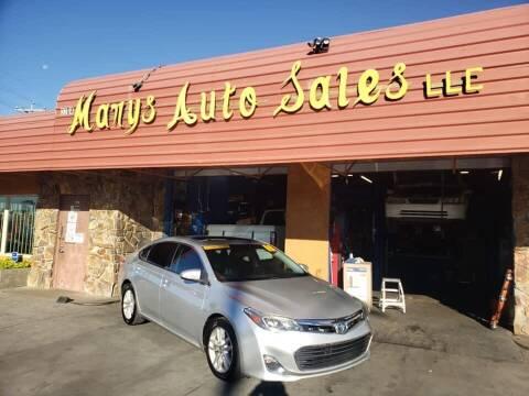 2013 Toyota Avalon for sale at Marys Auto Sales in Phoenix AZ