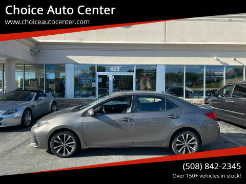 2017 Toyota Corolla for sale at Choice Auto Center in Shrewsbury MA