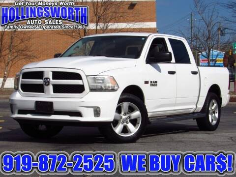 2015 RAM Ram Pickup 1500 for sale at Hollingsworth Auto Sales in Raleigh NC