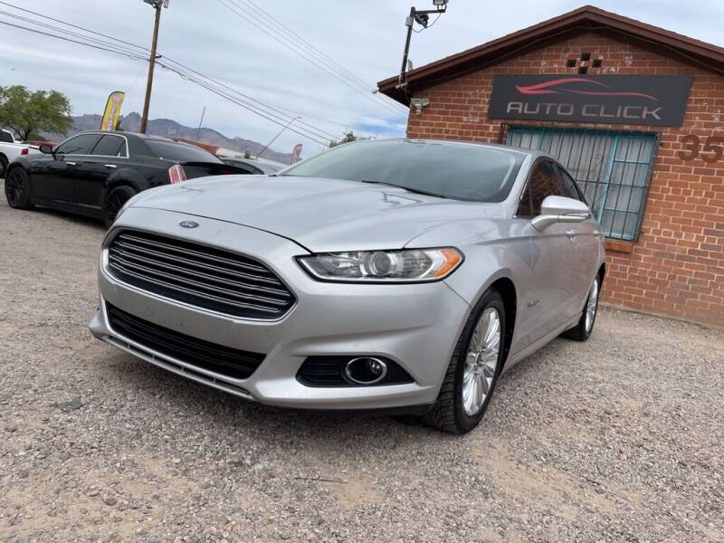 2013 Ford Fusion Hybrid for sale at Auto Click in Tucson AZ