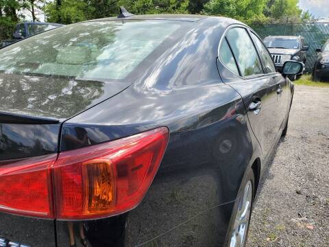 2010 Lexus IS 250 for sale at M & M Auto Brokers in Chantilly VA