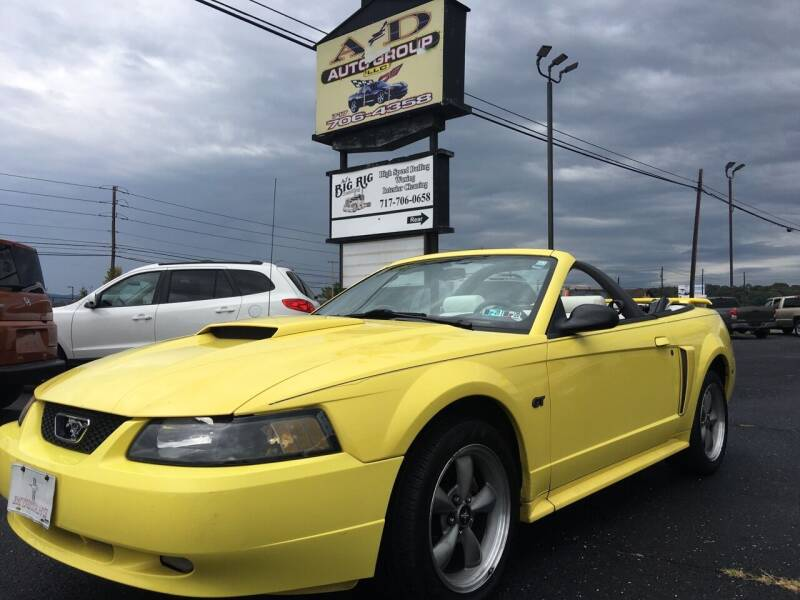 2002 Ford Mustang for sale at A & D Auto Group LLC in Carlisle PA