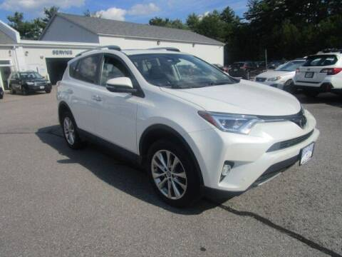 2017 Toyota RAV4 for sale at BELKNAP SUBARU in Tilton NH