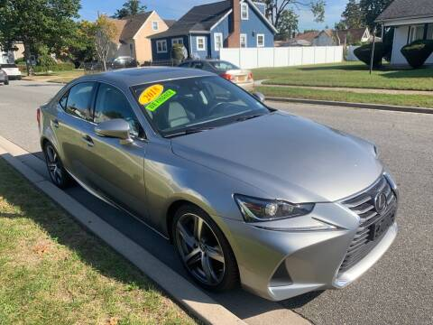 2018 Lexus IS 300 for sale at First Choice Automobile in Uniondale NY