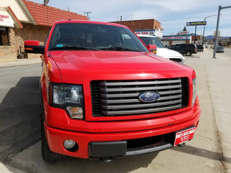 2012 Ford F-150 for sale at BOB'S AUTO MART in Lewistown MT