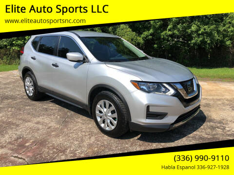 2017 Nissan Rogue for sale at Elite Auto Sports LLC in Wilkesboro NC
