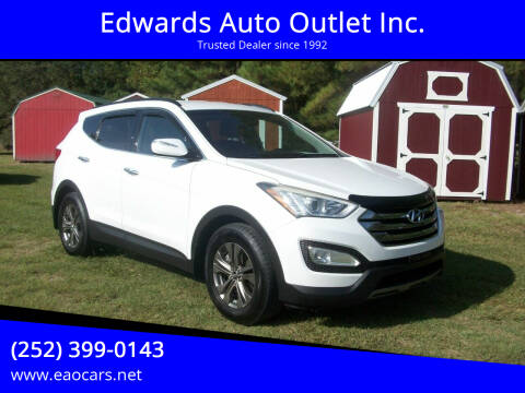 2013 Hyundai Santa Fe Sport for sale at Edwards Auto Outlet Inc. in Wilson NC