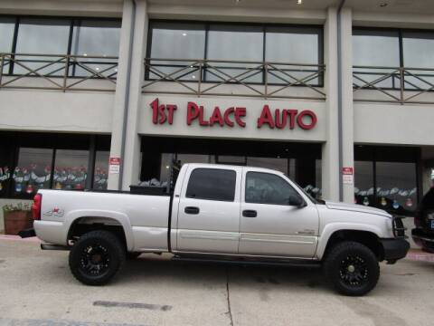 2005 Chevrolet Silverado 2500HD for sale at First Place Auto Ctr Inc in Watauga TX