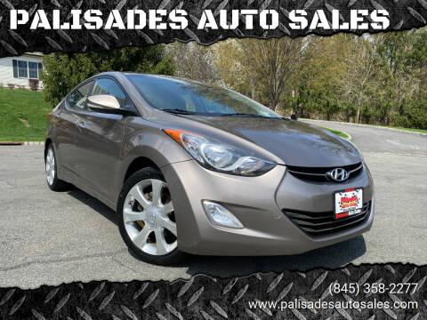 2011 Hyundai Elantra for sale at PALISADES AUTO SALES in Nyack NY