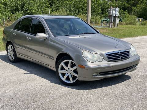 2003 Mercedes-Benz C-Class for sale at D & D Used Cars in New Port Richey FL