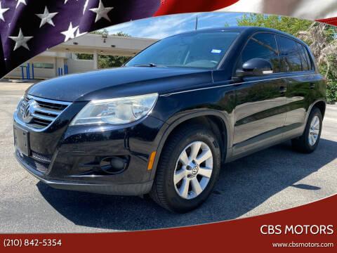 2010 Volkswagen Tiguan for sale at CBS MOTORS in San Antonio TX