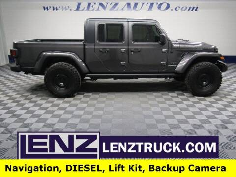 2021 Jeep Gladiator for sale at LENZ TRUCK CENTER in Fond Du Lac WI