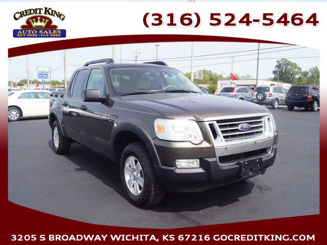 2008 Ford Explorer Sport Trac for sale at Credit King Auto Sales in Wichita KS