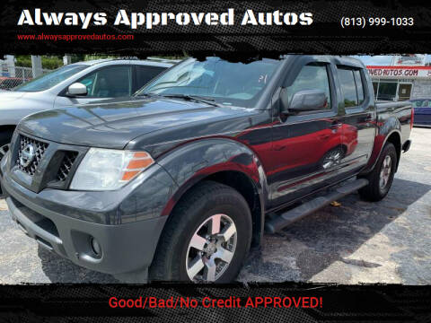 2010 Nissan Frontier for sale at Always Approved Autos in Tampa FL