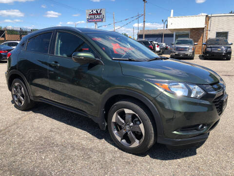 2018 Honda HR-V for sale at SKY AUTO SALES in Detroit MI