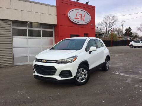 2018 Chevrolet Trax for sale at Legend Motors of Detroit in Detroit MI
