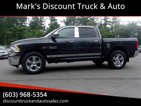 2014 RAM Ram Pickup 1500 for sale at Mark's Discount Truck & Auto in Londonderry NH