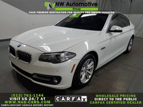 2016 BMW 5 Series for sale at NW Automotive Group in Cincinnati OH