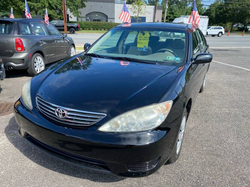 2005 Toyota Camry for sale at Primary Motors Inc in Commack NY