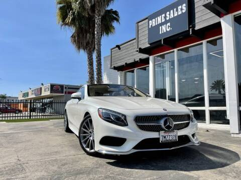 2016 Mercedes-Benz S-Class for sale at Prime Sales in Huntington Beach CA