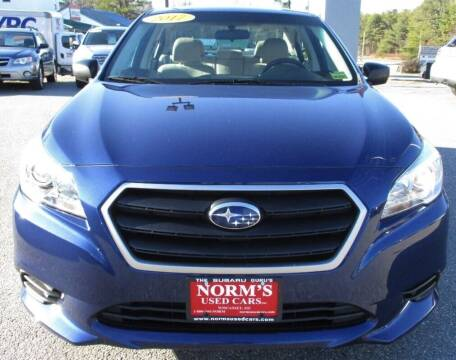 2017 Subaru Legacy for sale at NORM'S USED CARS INC in Wiscasset ME