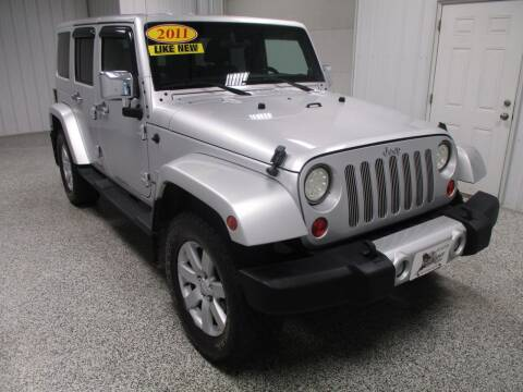 2011 Jeep Wrangler Unlimited for sale at LaFleur Auto Sales in North Sioux City SD