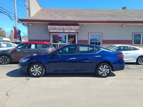 2020 Nissan Altima for sale at Shattuck Motors in Newport VT
