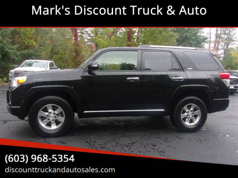 2013 Toyota 4Runner for sale at Mark's Discount Truck & Auto in Londonderry NH