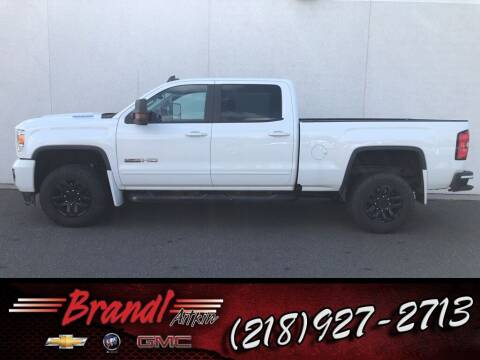 2018 GMC Sierra 2500HD for sale at Brandl GM in Aitkin MN