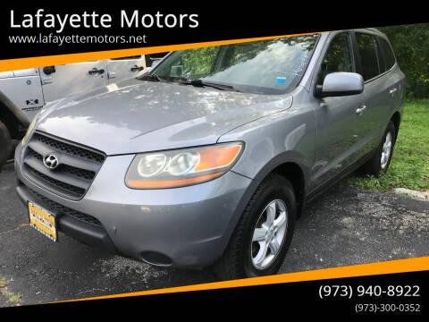 2008 Hyundai Santa Fe for sale at Lafayette Motors in Lafayette NJ
