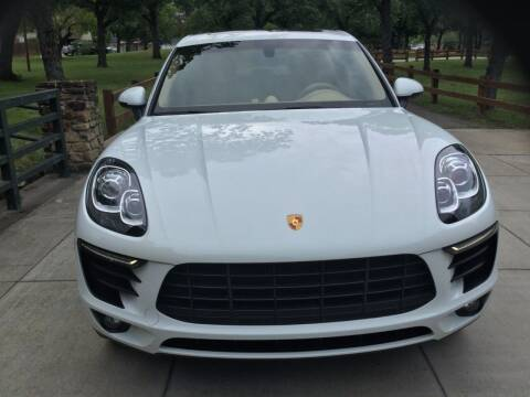 2015 Porsche Macan for sale at TEXAS MOTOR WORKS in Arlington TX