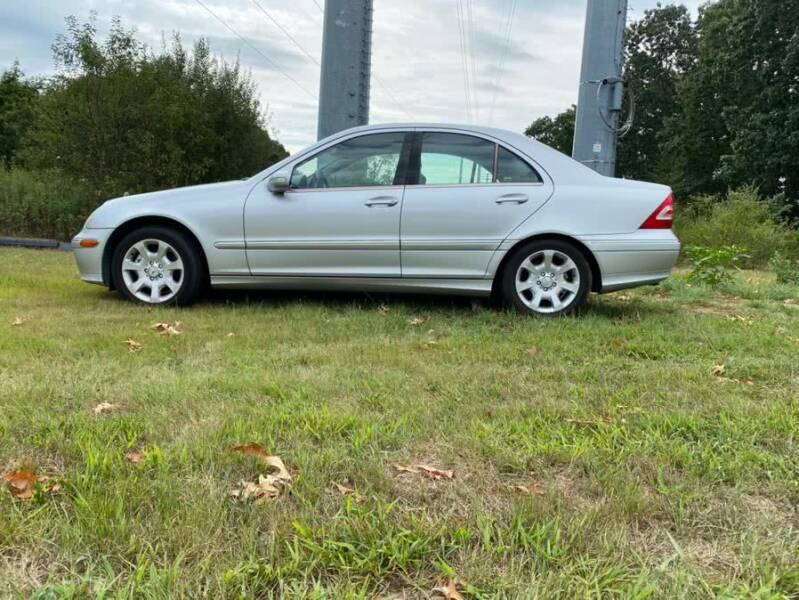2005 Mercedes-Benz C-Class for sale at Vertucci Automotive Inc in Wallingford CT