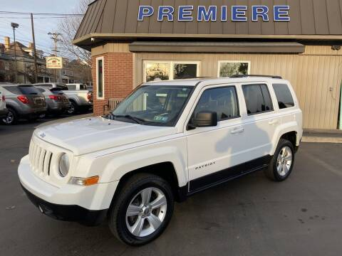 2014 Jeep Patriot for sale at Premiere Auto Sales in Washington PA